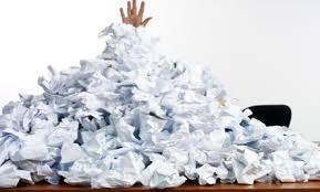 piles of paper surbiton writers group