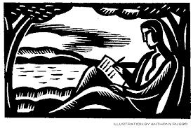 A Writer Writing