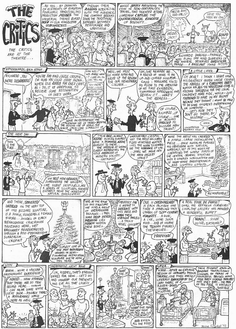 Viz Comic and The Critics – Forget That, Writing Feedback Is Useful